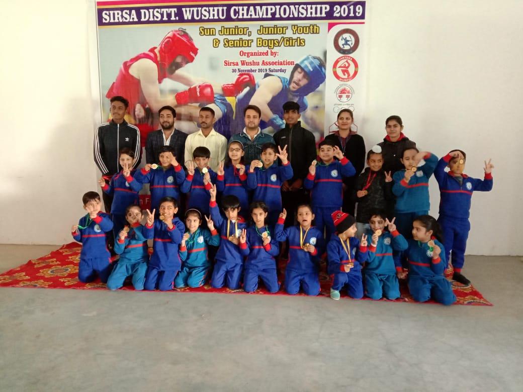 Wushu champions
